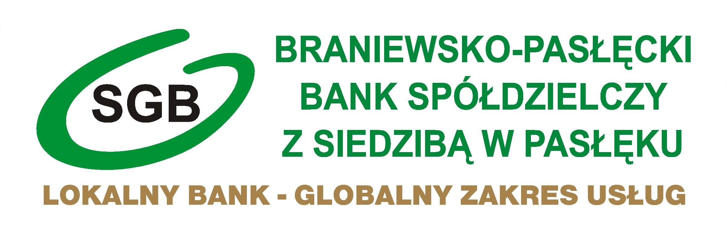 Konto za Złotówkę - Braniewsko-Pasłęcki Bank Spółdzielczy z siedzibą w Pasłęku